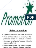 Promotion ppt