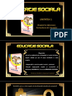EDUCATIE SOCIALA -U1