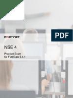 NSE-4-Practice-Exam