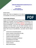 INTERVENCIÓN DEFINITIVA PLENO ALEGACIONES