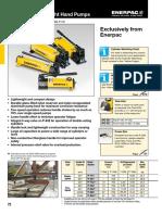 P, MP, P11-Series Manual Pumps EN-GB