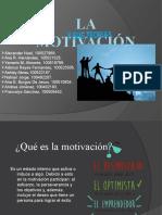 LA MOTIVACION Y SUS TEORIAS