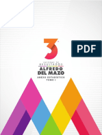 Tercer Informe Alfredo del Mazo Anexo Estadístico Tomo I