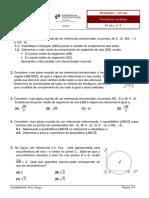 Ficha3_Geometria no plano-matemática A 11ºano