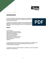 manual filtración Parker