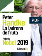 Handke Peter - La Ladrona De Fruta.pdf