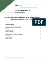 PEC B_Septiembre19-febrero2020-Psicologia del desarrollo II