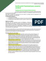 Sistemas de clasificación funcional para usuarios con parálisis cerebral