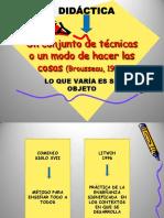 POWER DE FELDMAN  RelaciónTeoría-Práctica