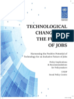 Technological Change and the Future of Jobs