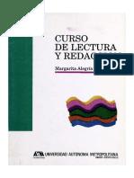 Margarita Alegría de la Colina. Curso de Lectura y Redacción
