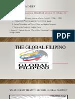 The Global Filipino- final