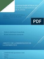 F.C.2.5.D DPI PRESENTACIONES DE LA DISTRIBUCION DE PLANTAS - TEMA 11