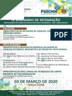 Seminário de Integração da pós IFRN Macau 2020
