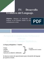 Unidad n°4-Desarrollo evolutivo del lenguaje (1)