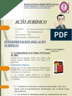 INTERPRETACION DEL ACTO JURIDICO 27.08.2020 2B
