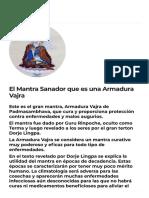 El Mantra Sanador que es una Armadura Vajra - Centros de meditación y budismo tibetano.pdf