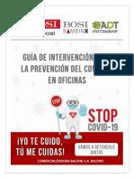 GUÍA DE INTERVENCIÓN PARA LA PREVENCIÓN DEL COVID-19 EN OFICINAS (2)