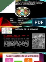 CLASIFICACIÓN DE LA GIMNASIA