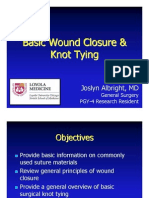 Basic Wound Closure and Knot Tying