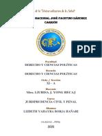 CUADRO DE SENTENCIAS VINCULANTES QUE ESTABLECEN DOCTRINA JURISPRUDENCIAL - ALUMNA LIZBETH BORJA.pdf