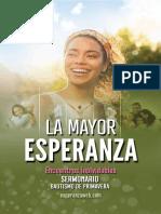 SERMONARIO EVANGELISMO PRIMAVERA 2020