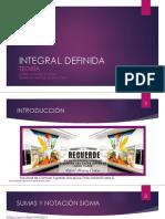 INTEGRAL DEFINIDA-TEORÍA