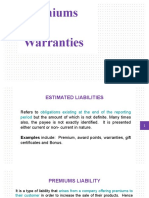 Premiums and Warranties.pptx
