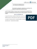 10 áreas de decisión de la Administración
