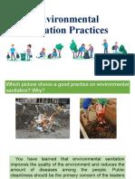 Environmental Sanitation Practices