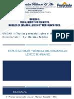 Pdf Clase 3 Teorías del desarrollo léxico.pdf
