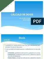 CÁLCULO DE DOSIS - copia