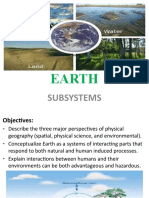 EARTH SCIENCE (SUBSYSTEMS)