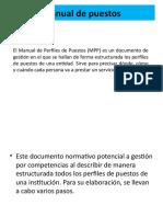 ESTRUCTURA DEL MANUAL DE PUESTOS (5)