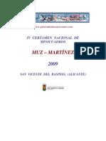 CATALOGO_IV_CERTAMEN_NACIONAL_MINICUADROS_2009