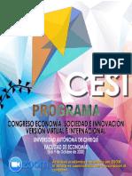 Programa de Congreso 2020