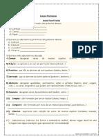 Atividades de Português (4º Ano- 18-08-2020)