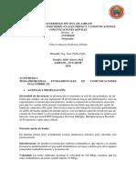TAREA 1-PROBLEMAS FUNDAMENTALES EN COMUNICACIONES INALÁMBRICAS