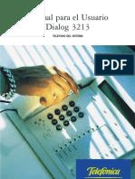 Dialog 3213 bueno
