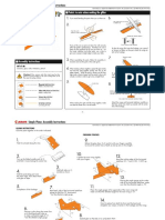 Laminated Paper Airplane 0010660 instructions