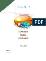 FICHA 2 CONSAGRACIÓN, COMUNIÓN Y MISIÓN