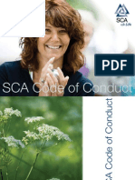 SCA Code of Conduct 2011 English