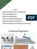 PRUDENTIAL REGULATION
