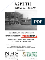 Maspeth Yesterday & Today Slideshow flier