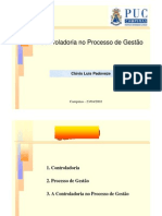 A Controladoria no Processo de Gestão - Clóvis Padoveze