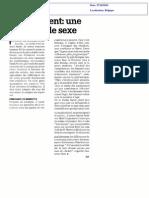 Recrutement - Une Question de Sexe