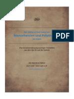 Der Unterschied zwischen Monotheisten und Polytheisten im Islam