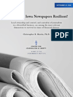 Martin-newspapers in Iowa