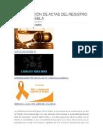 RECTIFICACIÓN DE ACTAS DEL REGISTRO CIVIL EN PUEBLA.docx PRACTICA PROFESIONAL..docx