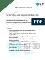 DIBUJO DE ESTRUCTURAS METALICAS MODULO II ISI3D